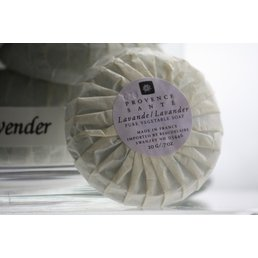 ApothEssence LifeStyle Enhancement- Bath, Body, Home & Health Lavender Guest/Travel Soap, wrapped bar .7 oz.
