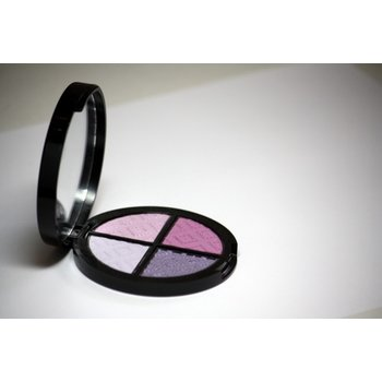 Cosmetics *Surrealist Dry Pressed Powder Eye Shadow Quad, Mirror Compact .25 oz, Discontinued item - last stock available