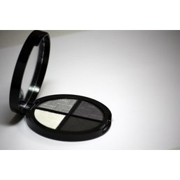Cosmetics *Muse Dry Pressed Powder Eye Shadow Quad, Mirror Compact .25 oz, Discontinued item - last stock available