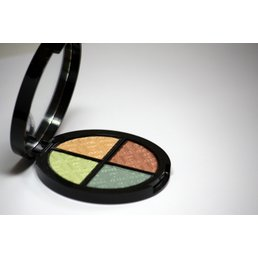 Cosmetics *Goddess Dry Pressed Powder Eye Shadow Quad, Mirror Compact .25 oz, Discontinued item - last stock available
