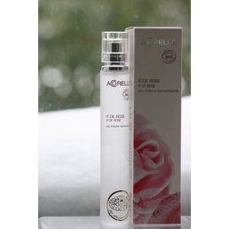 ApothEssence LifeStyle Enhancement- Bath, Body, Home & Health Acorelle Silky Rose Eaux Fraiche, spray 1 fl.oz.
