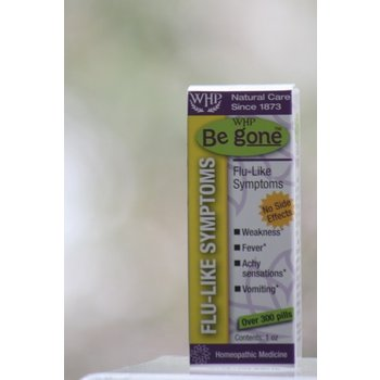 ApothEssence LifeStyle Enhancement- Bath, Body, Home & Health Be Gone Flu-like Symptoms Homeopathic Remedy 1oz Pellet