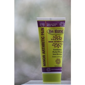 ApothEssence LifeStyle Enhancement- Bath, Body, Home & Health Be Gone Minor Arthritic Pain Homeopathic 2oz Ointment