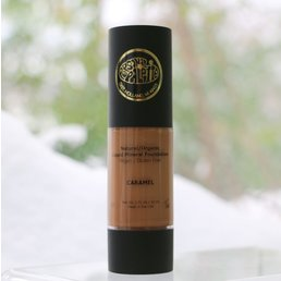 Cosmetics Natural, Organic Liquid Mineral Foundation - Caramel - <br />