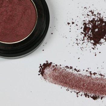 Cosmetics Burgundy Frost Dry Pressed Powder Eye Shadow (77), .053 oz