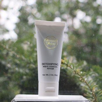 Skin Care Detoxifying Mud & Charcoal Masque, Tube 2 oz