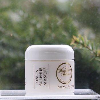 Skin Care Zinc & Sulphur Masque jar 2 oz.<br />Mild Acne-Prone | Moderate Acne-Prone | Severe Acne-Prone | Oily | Congested
