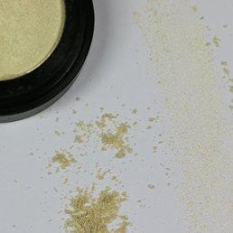 Cosmetics White Gold Dry Pressed Powder Eye Shadow (56), .053 oz