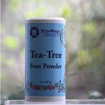 ApothEssence LifeStyle Enhancement- Bath, Body, Home & Health Tea Tree Foot Powder 4oz