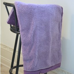 ApothEssence LifeStyle Enhancement- Bath, Body, Home & Health Spa Blanket, Purple by Dreamtime