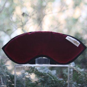 ApothEssence LifeStyle Enhancement- Bath, Body, Home & Health Sleep Mask, Cranberry by Dreamtime