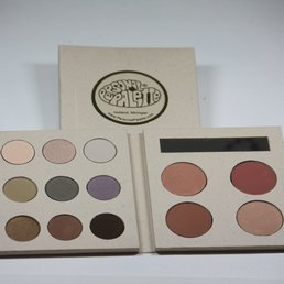 Cosmetics Warm Mineral Makeup Palette