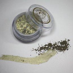 Cosmetics Glitter Eye Dust, Khaki Green (16)