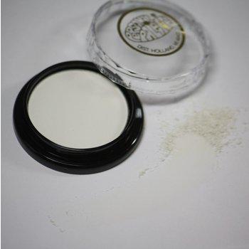 Cosmetics White Matte Dry Pressed Powder Eye Shados (B71) (*206), .14 oz