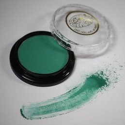 Cosmetics Emerald Green Dry Pressed Powder Eye Shadow (B33), .14 oz