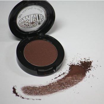 Cosmetics *Satin Chocolate Dry Pressed Powder Eye Shadow (593), .07 oz, Discontinued item - last stock available
