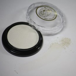 Cosmetics White Satin Dry Pressed Powder Eye Shadow (B7) (*06), .14 oz