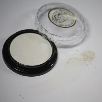 Cosmetics White Satin Dry Pressed Powder Eye Shadow (B7) (*06), .14 oz