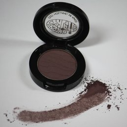 Cosmetics *Black Amethyst Mineral Matte Dry Pressed Powder Eye Shadow, .07 oz, Discontinued item - last stock available