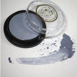 Cosmetics Blue Silver Dry Pressed Powder Eye Shadow (B24), .14 oz