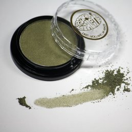 Cosmetics Golden Olive Dry Pressed Powder Eye Shadow (A10), .14 oz