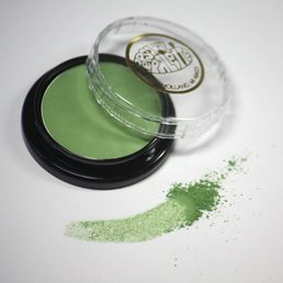 Cosmetics Jade Green Dry Pressed Powder Eye Shadow (B13), .14 oz