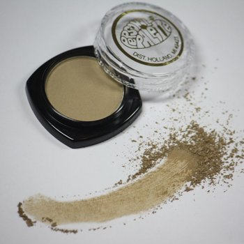 Cosmetics Khaki Dry Pressed Powder Eye Shadow