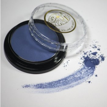 Cosmetics Navy Matte Dry Pressed Powder Eye Shadow (A7), .14 oz