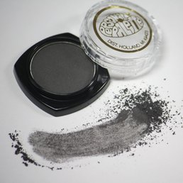 Cosmetics Smokey Grey Dry Pressed Powder Eye Shadow
