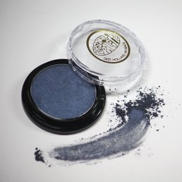 Cosmetics Steel Blue Ice Dry Pressed Powder Eye Shadow (B42), .14 oz