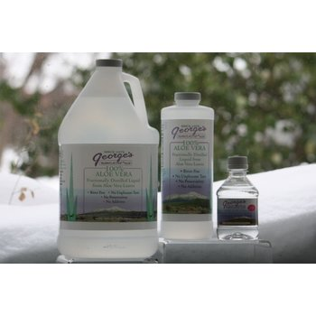 ApothEssence LifeStyle Enhancement- Bath, Body, Home & Health George's Aloe Liquid 32oz
