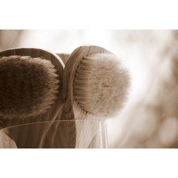 ApothEssence LifeStyle Enhancement- Bath, Body, Home & Health Short-Handled Bath Body Brush