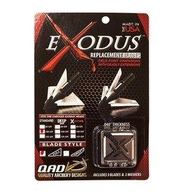QAD QAD Exodus Replacement Blades