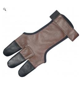 Legacy Legacy Full Lether Shootign Glove with Leather Tips