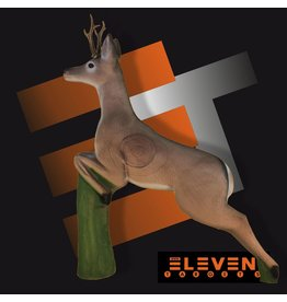 Eleven Eleven 3D Leaping Deer
