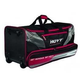 Hoyt Hoyt Rolling Duffle Bag Red