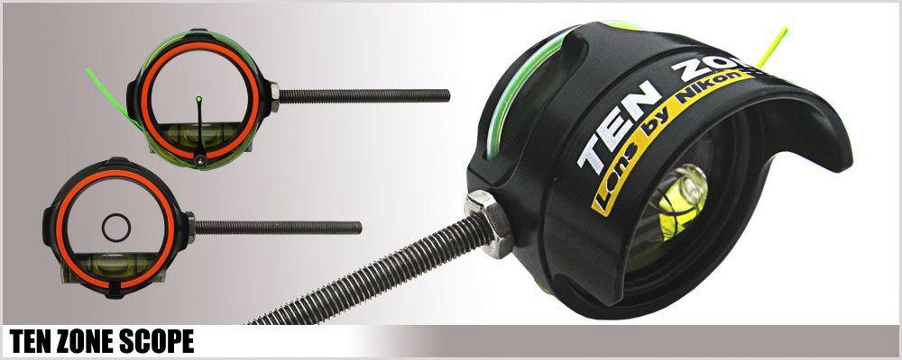 bde0c1d912 Mybow (Merlin) Scope w  Nikon Lens with Stickers - Urban Archery
