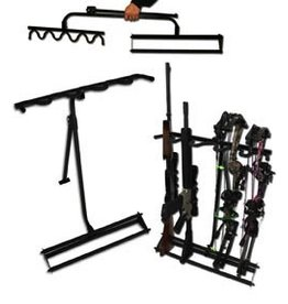 Hold Up Metal Folding Bow Rack