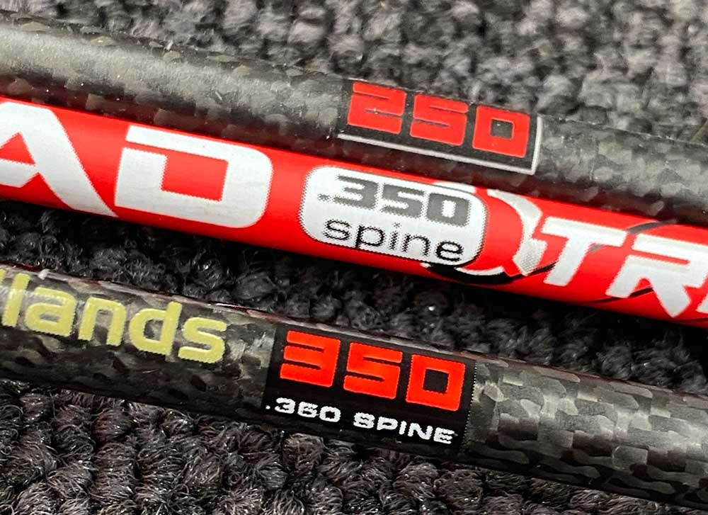 Carbon Express Spine Ratings