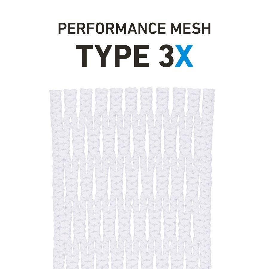 String King Type 3X White Lacrosse Mesh