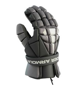 """Under Armour Strategy Grey 12"""" Gloves"""