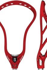 Brine King X Red Unstrung Lacrosse Head
