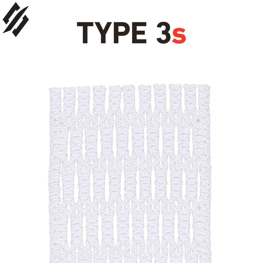 String King Type 3S White Lacrosse Mesh