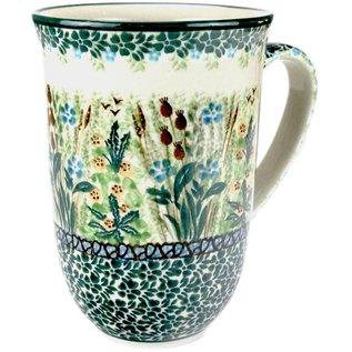 Ceramika Artystyczna Bistro Cup Prairie Marshland Signature
