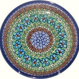 Ceramika Artystyczna Dinner Plate Cottage Green Signature 3.5