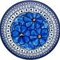 Ceramika Artystyczna Dinner Plate Cosmos Blue Signature 4