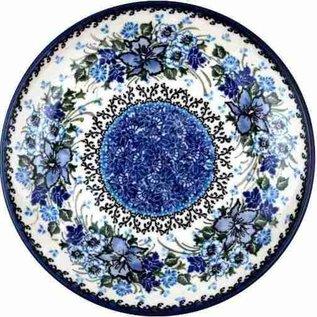 Ceramika Artystyczna Dinner Plate Blue Dawn Signature