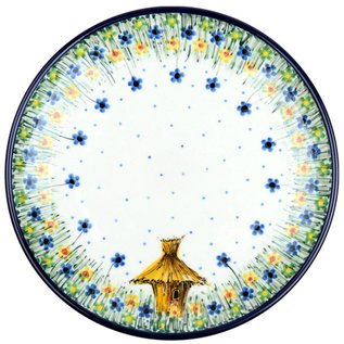 Ceramika Artystyczna Dinner Plate Bee Hive Signature