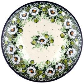 Ceramika Artystyczna Dinner Plate Magnolia Green Signature