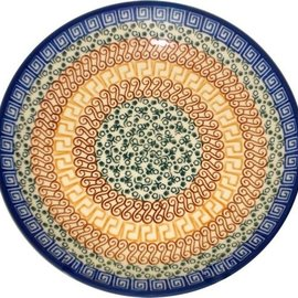 Ceramika Artystyczna Dinner Plate Autumn